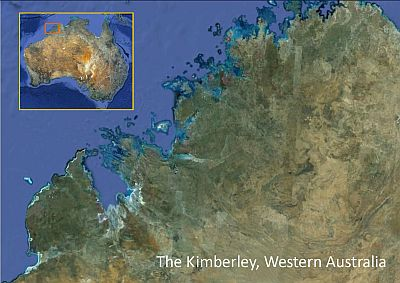 Map Kimberley